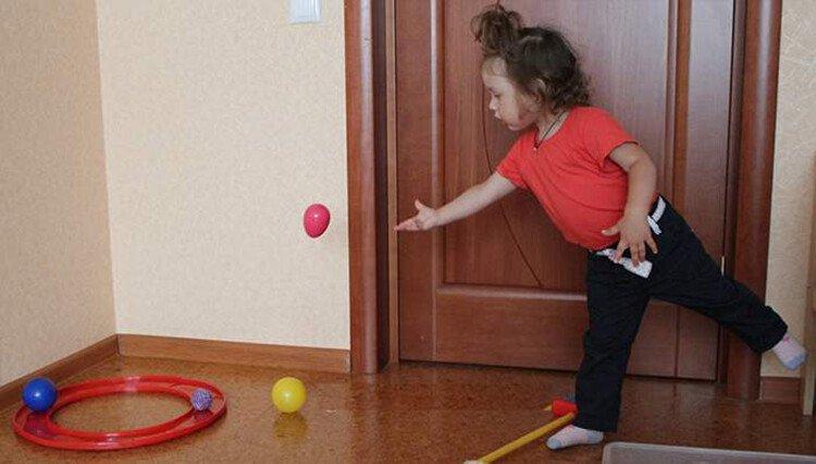 Эстафета для детей в домашних условиях
