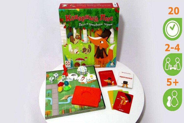Настольная игра для детей Коварный лис