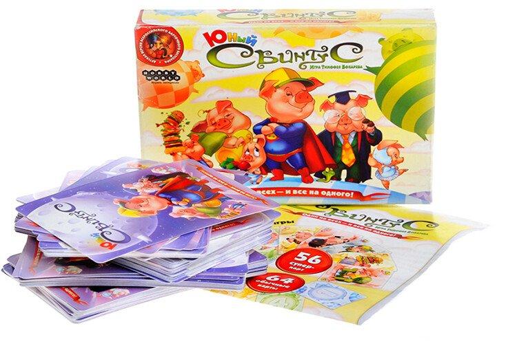Настольная игра для детей Свинтус