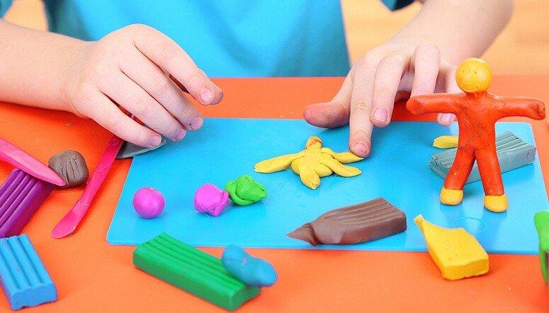Занятия с пластилином для детей 4-7 лет