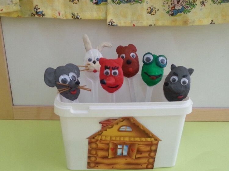 Пластилиновый театр для детей 4-7 лет дома