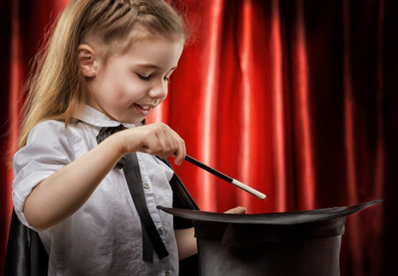 Простые фокусы для детей 3-7 лет дома