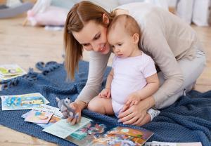 Развивающие игры с ребёнком 1-2 года