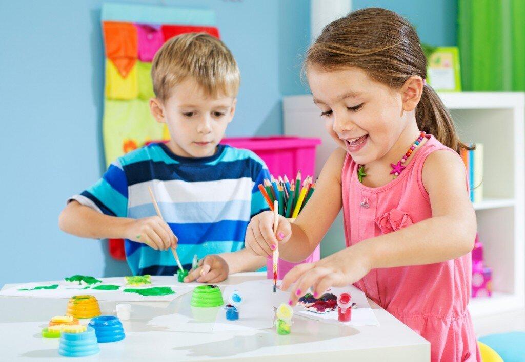 Рисование с детьми 4-7 лет