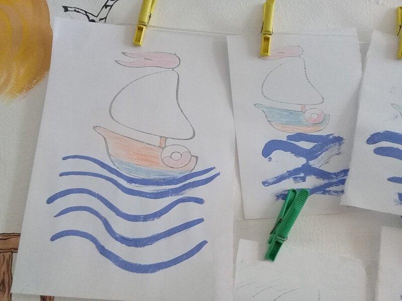 Рисуем горизонтальные линии с ребёнком 2-3 лет
