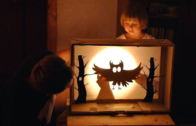 Театр теней для детей 4-7 лет дома
