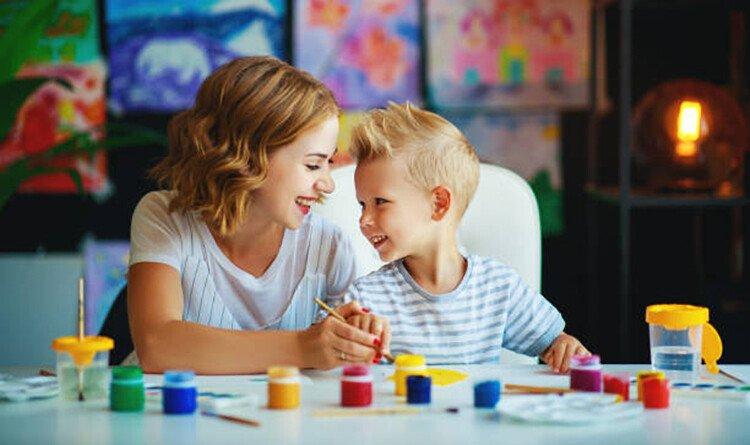 Как проводить уроки рисования с ребёнком 3-4 года