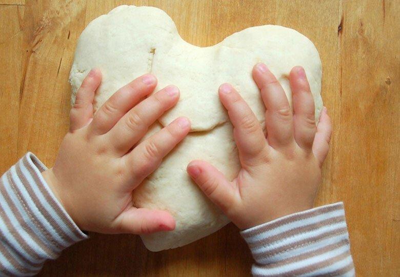 Как сделать солёное тесто для лепки