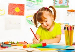 Рисуем с детьми 3-4 лет дома