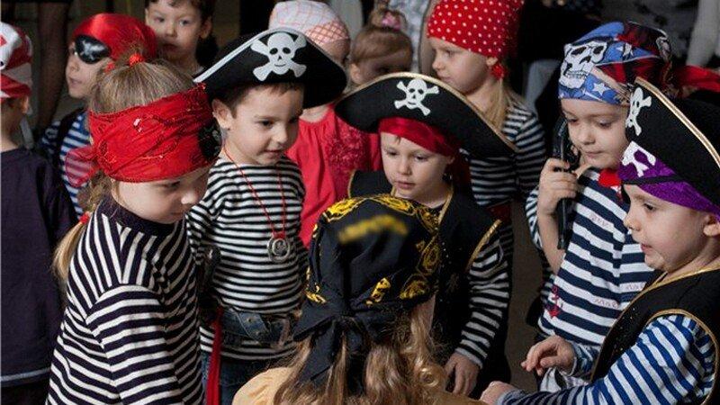 Конкурсы на пиратском дне рождения у ребёнка 5-7 лет