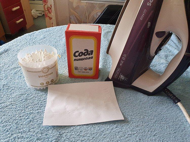 Невидимые чернила из соды в домашних условиях