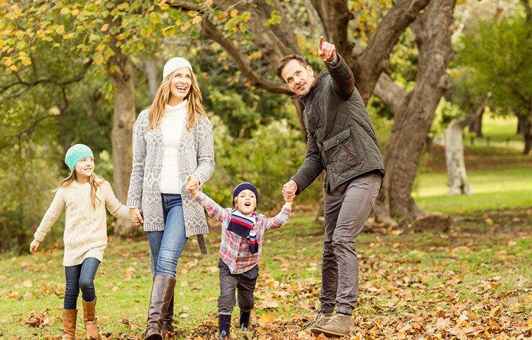 Организация выходных дней с семьёй