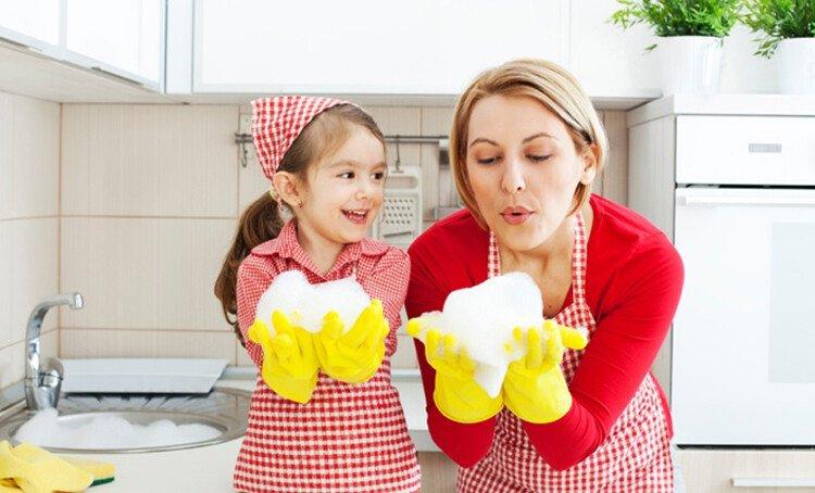 Привлечение детей к домашним делам