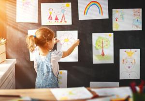 Рисуем с детьми 5-6 лет дома
