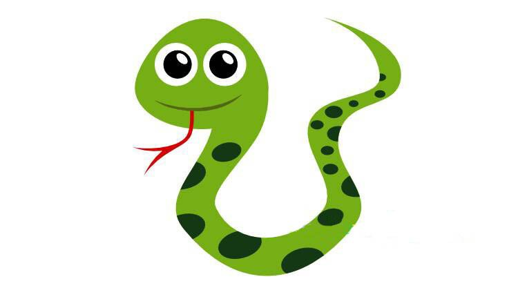 Рисуем змейку с детьми 4 этап