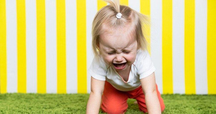 Как реагировать на истерику малыша