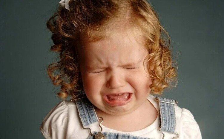 Ночная истерика у ребёнка в 2 года