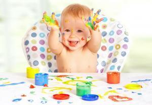 Рисуем с детьми 1-2 лет дома