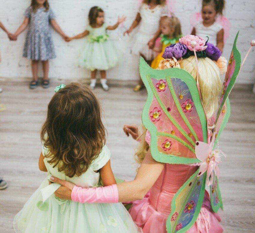Игра для детей 3-5 лет Злая колдунья и феи