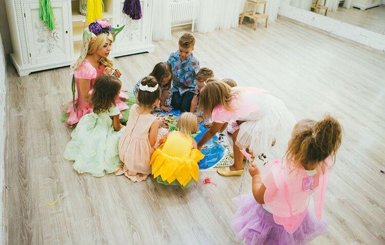 Игра для детей 3-5 лет Проделки гномов