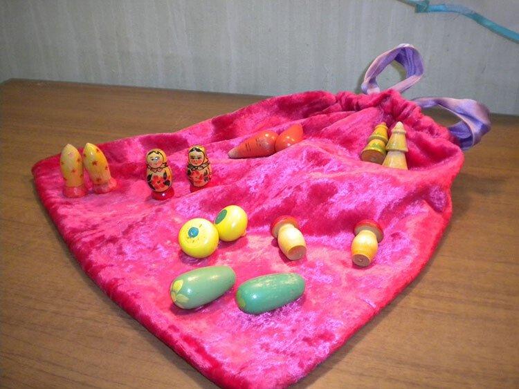 Игра для детей 3-5 лет загадочные мешочки