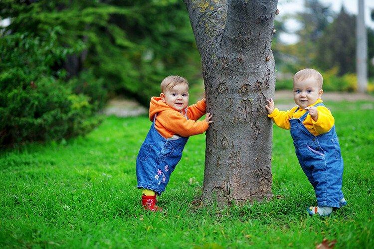Речевое развитие двойняшек и близнецов