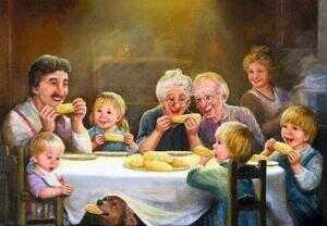 Сказка про добрую семью