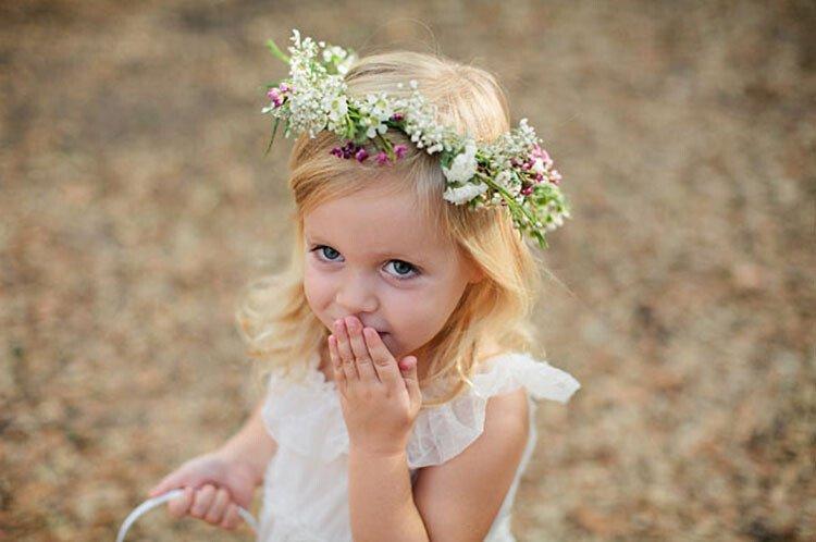 """Венок для феи на детский праздник """"Лесные феи"""""""