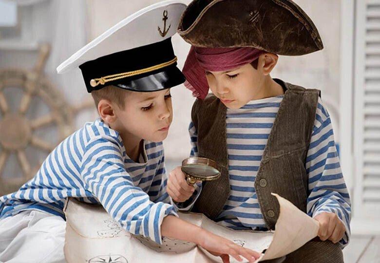 Пиратский квест для детей 5-7 лет