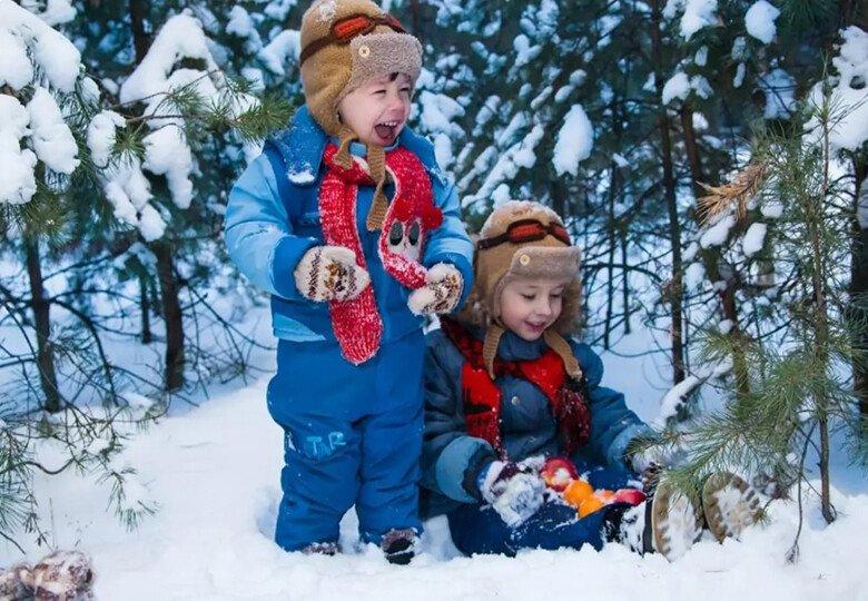 Опыты со снегом для детей