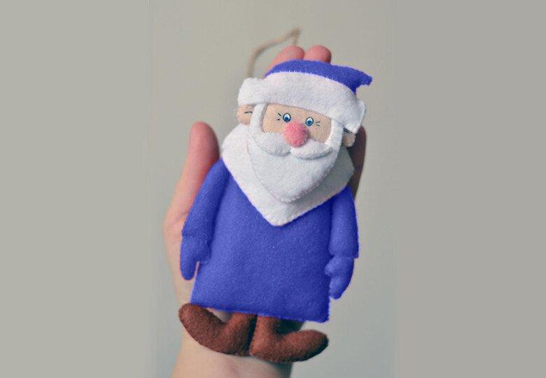 Поделка Дед Мороз своими руками на Новый год